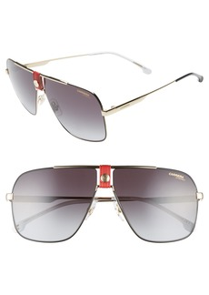 Carrera Eyewear 63mm Navigator Sunglasses