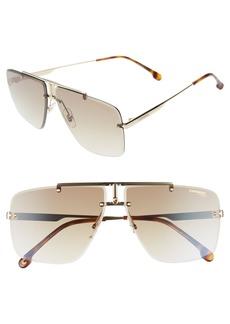 Carrera Eyewear 64mm Navigator Sunglasses