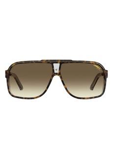 Carrera Eyewear Grand Prix 2 64mm Oversize Aviator Sunglasses