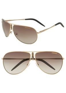 Carrera Eyewear 'Gypsy' Metal Aviator Sunglasses