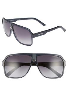 Carrera Eyewear Navigator 64mm Polarized Sunglasses