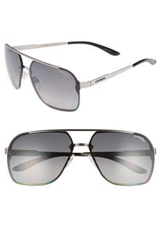 Carrera Eyewear Navigator 64mm Polarized Sunglasses