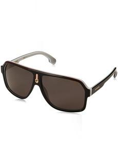 Carrera Men's 1001/s Polarized Aviator Sunglasses  62 mm