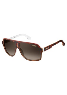 Carrera Men's 1001/s Polarized Aviator Sunglasses  62 mm