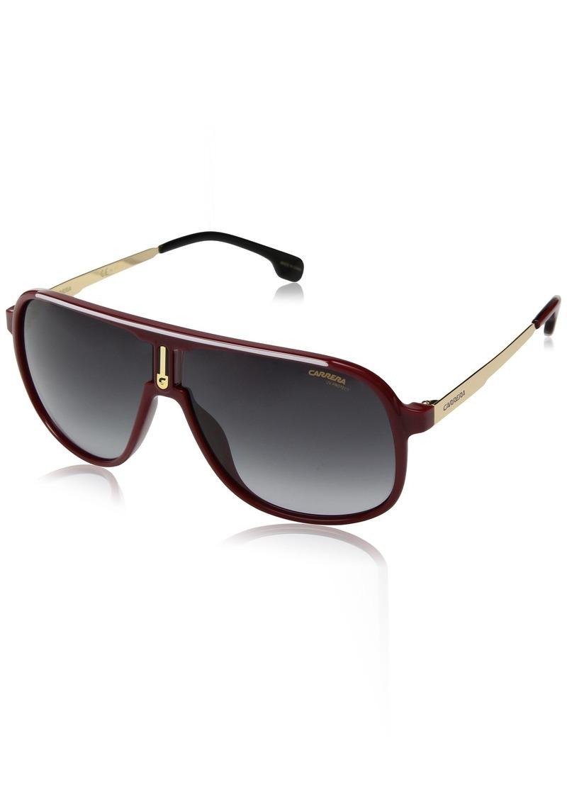 Carrera Men's 1007/s Aviator Sunglasses RED