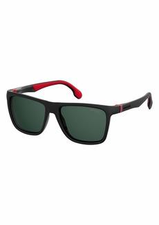 Carrera Men's 5047/s Square Sunglasses BLACK 56 mm