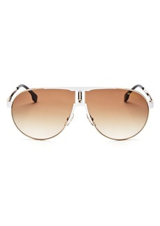 Carrera Men's Aviator Shield Sunglasses, 70mm