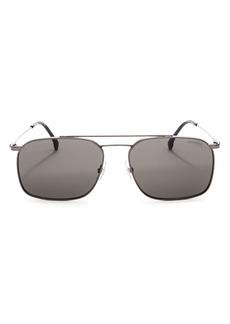 Carrera Men's Brow Bar Square Sunglasses, 57mm