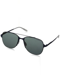 Carrera Men's Ca114s Aviator Sunglasses  55 mm