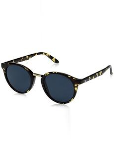 Carrera Men's Ca5036s Round Sunglasses Havana/blue Avio