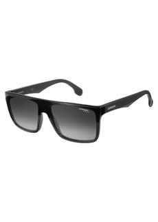 Carrera Men's Ca5039s Rectangular Sunglasses  58 mm