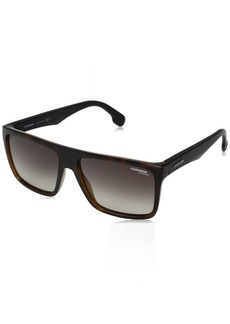 Carrera Men's Ca5039s Rectangular Sunglasses