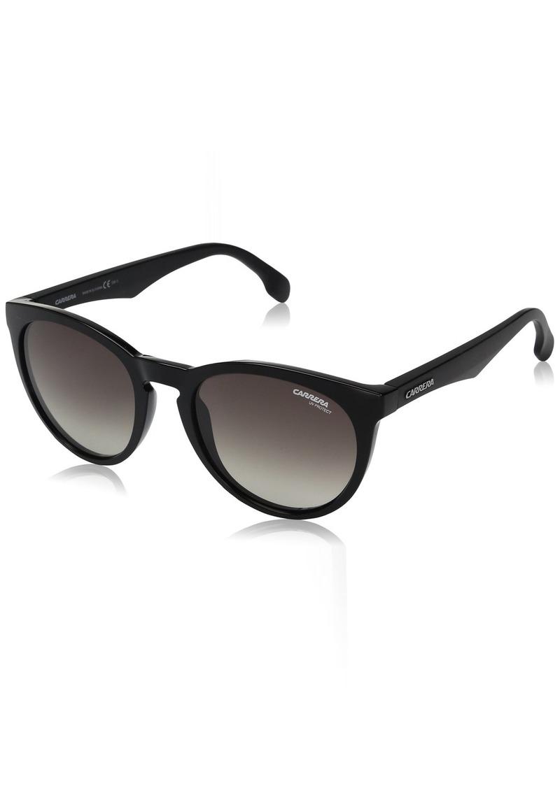 Carrera Men's Ca5040s Round Sunglasses BLACK/BROWN GRADIENT