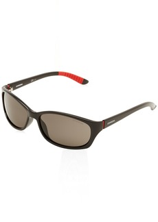 Carrera Men's CA8016S Polarized Rectangular Sunglasses  60 mm