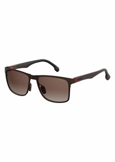 Carrera Men's CA8026/S Polarized Square Sunglasses