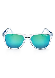 Carrera Men's Mirrored Square Keyhole Sunglasses, 55mm