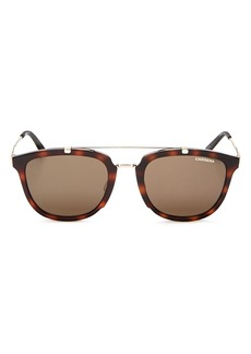 Carrera Men's Mixed Media Retro Square Sunglasses, 50mm