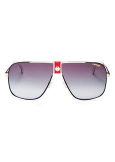 Carrera Men's Polarized Aviator Sunglasses, 64mm
