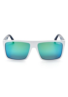 Carrera Men's Rectangle Sunglasses, 57mm
