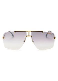 Carrera Men's Rimless Aviator Sunglasses, 73mm