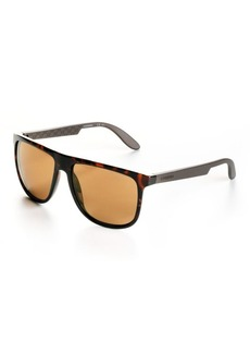Carrera Printed Logo Square Sunglasses