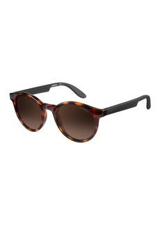 Carrera Tortoiseshell Round Sunglasses