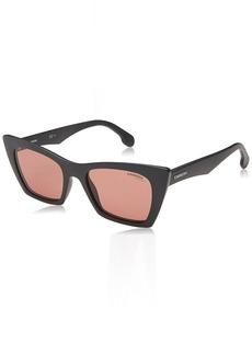 Carrera Women's 5044/s Cateye Sunglasses MTT BLACK 50 mm
