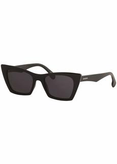 Carrera Women's Carrera 5044/s Polarized Cateye Sunglasses BLACK 50 mm