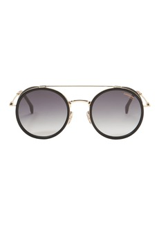 Carrera Gold Round Sunglasses