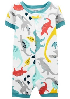 Carter's Baby Boys Dinosaur Romper Pajamas