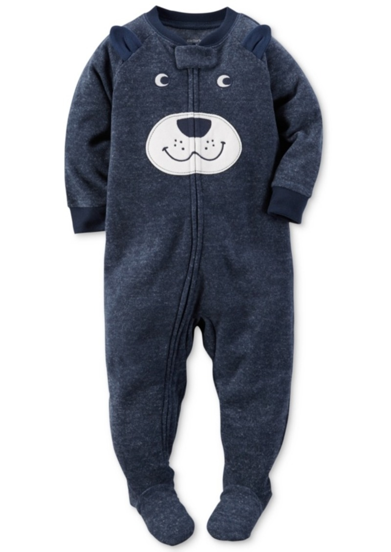 Carter's 1-Pc. Bear Footed Pajamas, Toddler Boys (2T-4T)