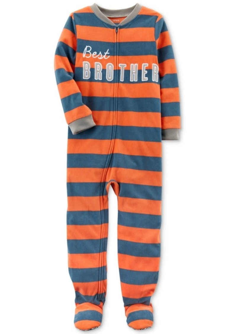 f54baec12 On Sale today! Carter s Carter s 1-Pc. Best Brother Striped Footed ...