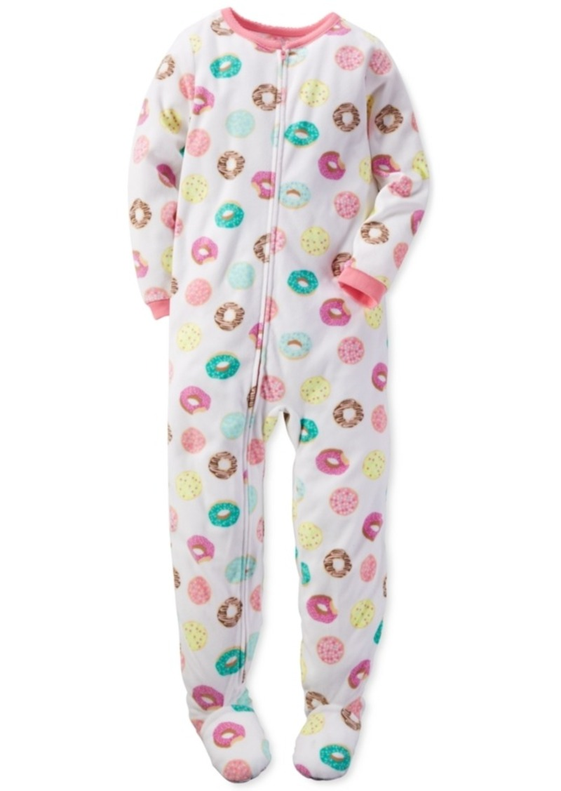 23802069f Carter s Carter s 1-Pc. Donut-Print Footed Pajamas