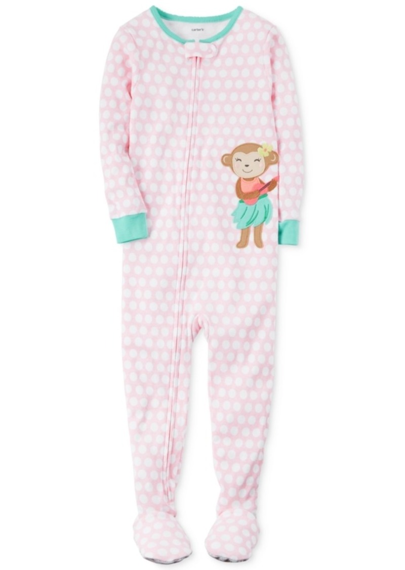aeaf953c1 Carter s Carter s 1-Pc. Hula Monkey Footed Pajamas