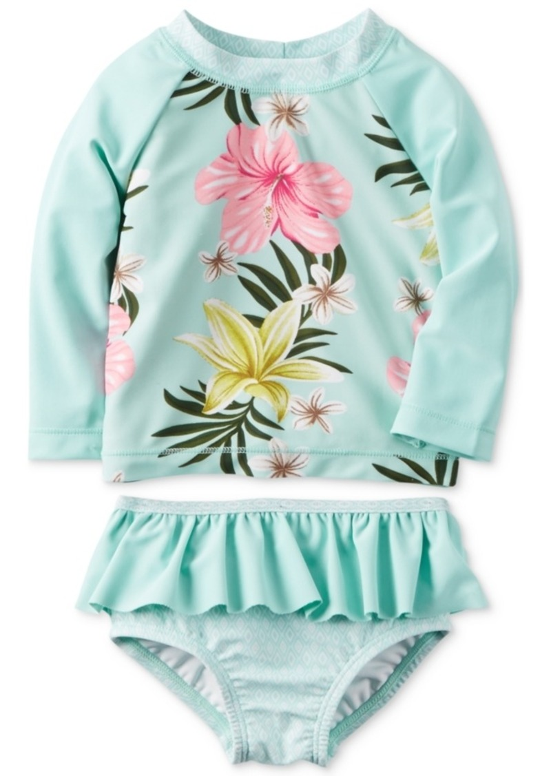5693f90c4b 2-Pc. Floral-Print Rashguard Swim Set, Baby Girls (0-24 Months). Carter's