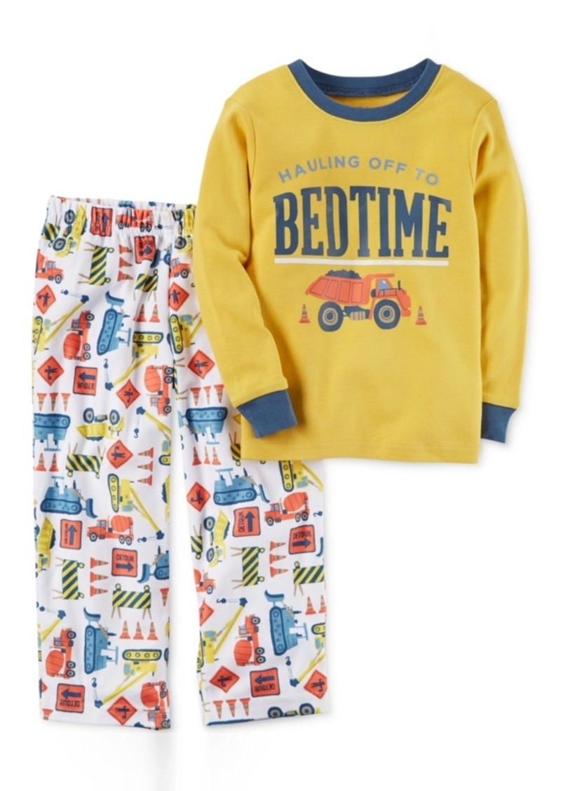 65faf40623e9 Carter s Carter s 2-Pc. Hauling Off To Bedtime Pajama Set