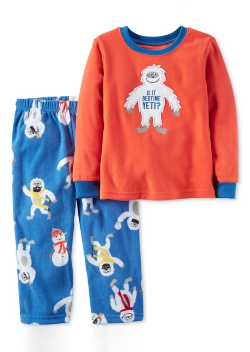 Carter's 2-Pc. Is It Bedtime Yeti Pajama Set, Little Boys (2-7) & Big Boys (8-20)