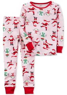 069c0e3d0 Carter s Carter s 1-Pc. Dot-Print Dog Footed Pajamas