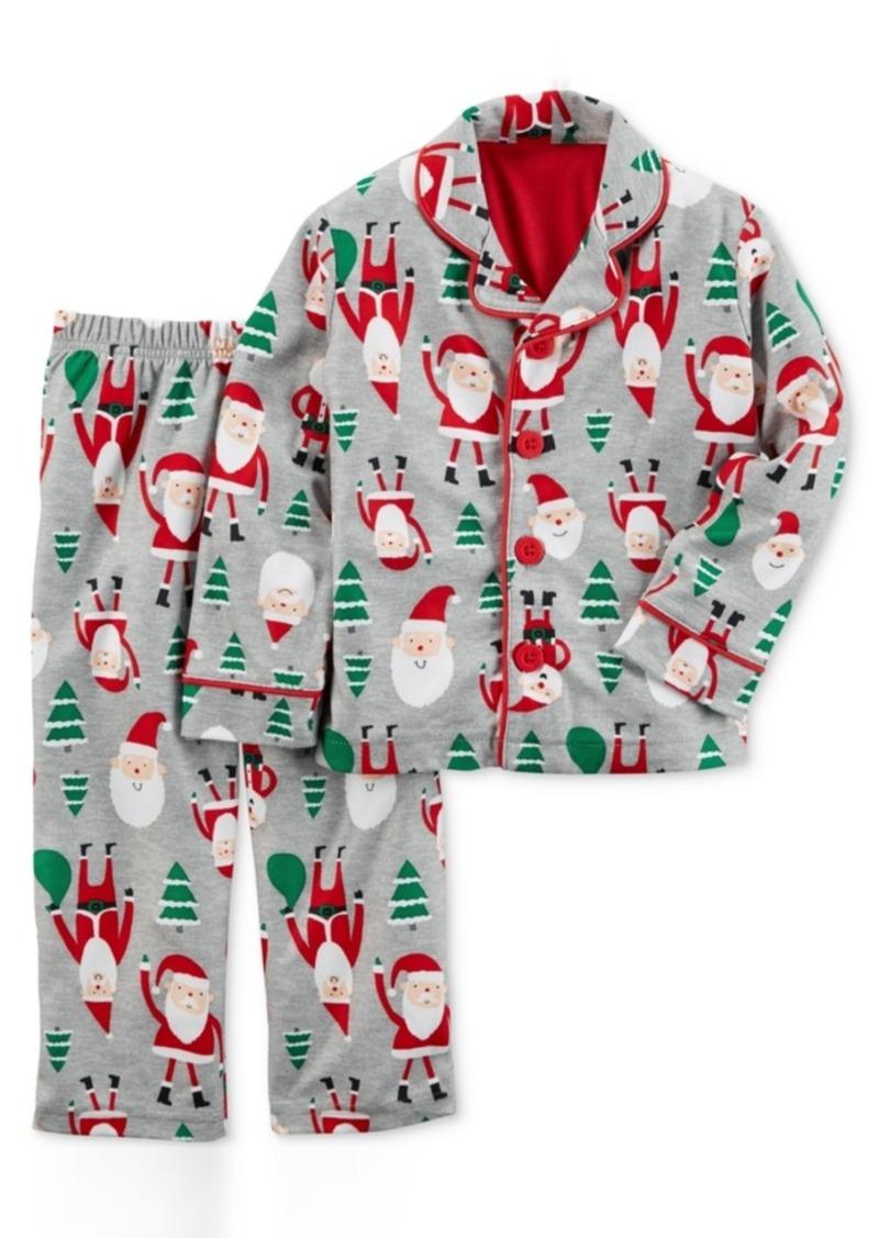 Carter's 2-Pc. Santa-Print Pajama Set, Toddler Boys (2T-4T)