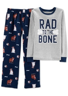 Carter's 2-Piece Little & Big Boys Rad to the Bone Pajamas Set