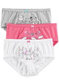 Carter's 3-Pk. Animal-Graphic Panties, Little Girls & Big Girls