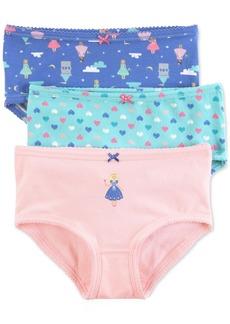 Carter's 3-Pk. Princess Panties, Little Girls & Big Girls