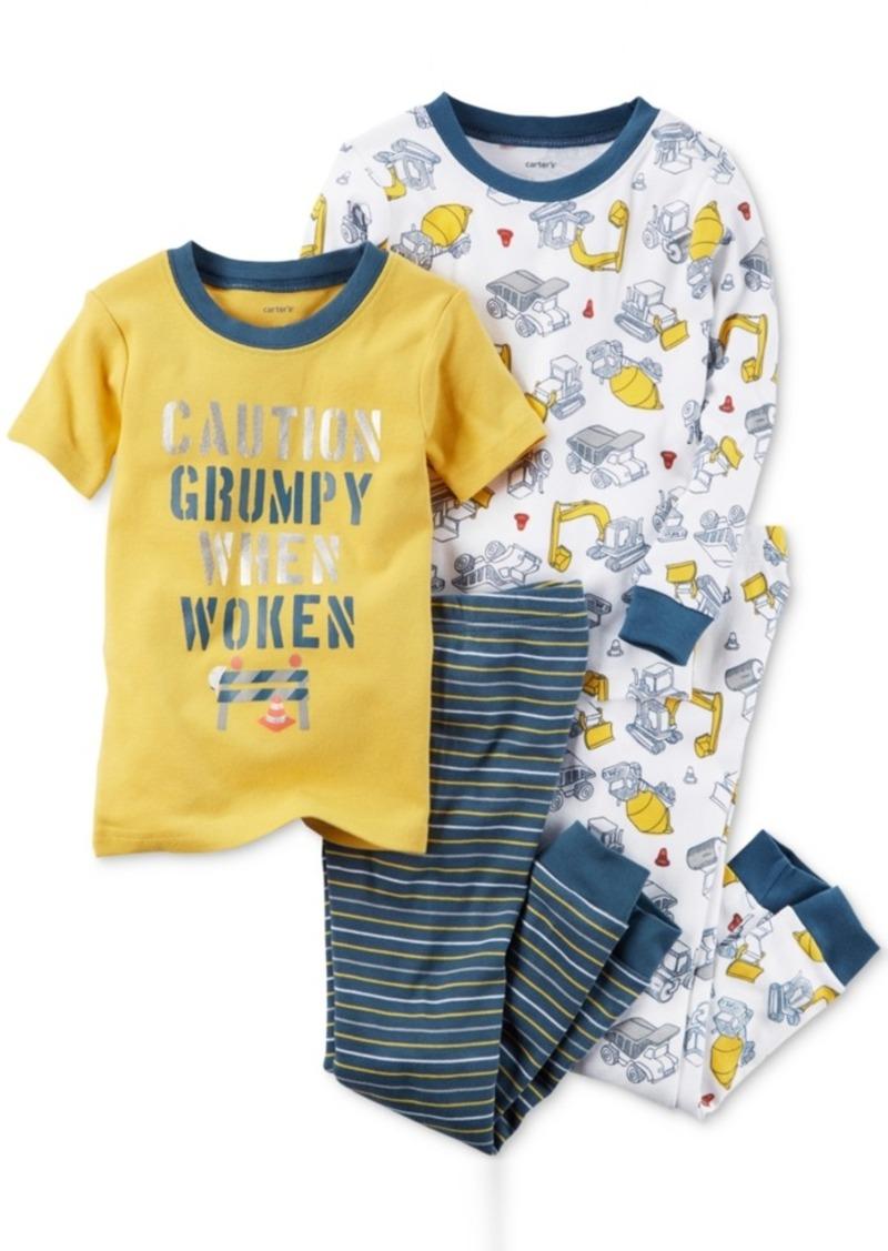 c459b5669 Carter s Carter s 4-Pc. Grumpy When Woken Cotton Pajama Set