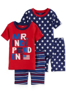 Carter's 4-Pc. Mr. Independent Cotton Pajama Set, Toddler Boys