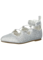 Carter's Amberlee Girl's Lace-Up Ballet Flat