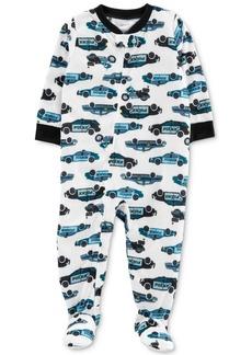 Carter's Baby Boy Cruiser-Print Full-Zip Pajamas