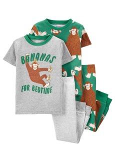 Carter's Baby Boy Gorilla 100% Snug Fit Cotton Pajamas