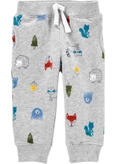 Carter's Baby Boy Pull-On Fleece Pants