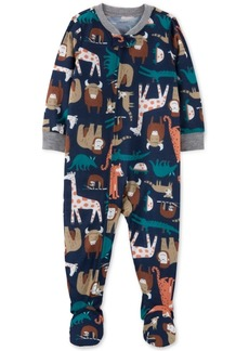 Carter's Baby Boys 1-Pc. Animal-Print Pajama