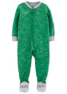 Carter's Baby Boys 1-Pc. Dinosaur-Print Pajama